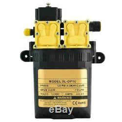 12V 7-9LPM Ultra Quiet Brushless High Pressure Motor Submersible Pool Water Pump