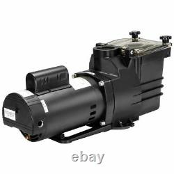 1HP Swimming spa pool pump motor Strainer above In ground 115230v super flow