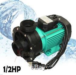 1/2 HP Swimming Pool Pond Bathtub Circulation Centrifugal Clean Water Pump