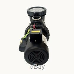 1.5HP Swimming Spa Pool Pump Motor Strainer Above In Ground 220v Super Flow