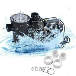 1.5Hp Swimming Pool Electric Pump Water Pump Home Garden 1-1/2 Npt Strong Motor