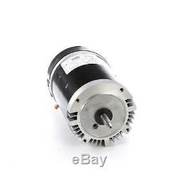 1 HP 3450 RPM 56J 115/208-230V Swimming Pool Pump Motor Century # SN1102