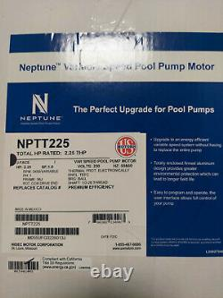 2.25 Variable Speed Pool Pump Replacement Motor For Hayward Super II NEW