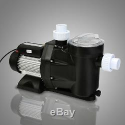 2.5HP IN GROUND Swimming spa POOL PUMP MOTOR Strainer above Inground 110V
