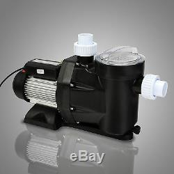 2.5HP In Ground Swimming Pool Pump Motor Electric 1850W Above Ground With Basket