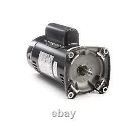 2 HP 3450 RPM 48Y Frame Square Flange 230V Pool Motor Century # USQ1202