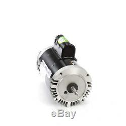 2 HP 3450 RPM 56J Frame 208-230V Swimming Pool Pump Motor Century # B809