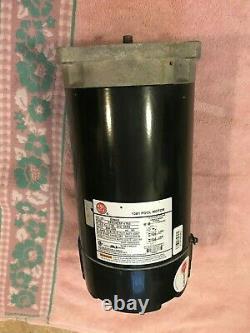 2 Hp Square Flange Pool Pump Motor 2.0 HP 56Y 1081 Pentair Challenger