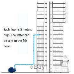 370W 1'' Steel Centrifugal Clear Water Pump Industrial Clean Pool Pond Farm 110V