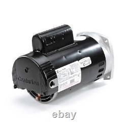 3/4 HP 2-Speed 56Y Frame 230V Square Flange Pool Motor Century # B2980