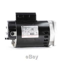 3/4 hp 3450rpm 56Y Frame 115/230V Square Flange Pool Motor Century # B2852