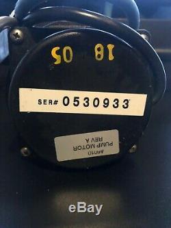 AQUABOT POOL CLEANER PUMP MOTOR PART# A6010 Rev A