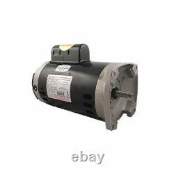 A. O. Smith B2840 2.5HP 230V Pool Pump Motor 56Y Frame Square Flange