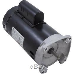 A. O. Smith B2847 0.75HP 115/230V Square Flange Pool Motor 1-Spd, 56Yfr