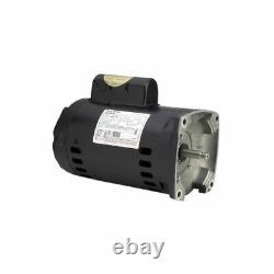 A. O. Smith B2852 0.75HP 115-230V Square Flange Up-Rated Pool or Spa Pump Motor