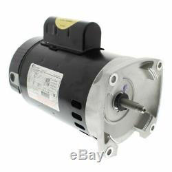 A. O. Smith B2853 1HP 115/230V Square Flange Up Rate 1 Pool or Spa Pump Motor