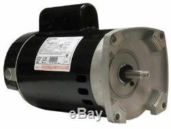 A. O. Smith B2854 1.5HP 115V/230V Square 56Y Pool and Spa Pump Motor