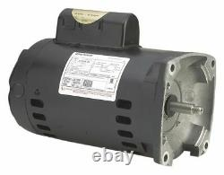 A. O. Smith B845 56Y Frame 0.5 HP Square Flange Motor for Pool and Spa Pump