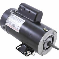 A. O. Smith BN-63 48 Frame Thru-Bolt 4HP 230V 2 Speed Pool and Spa Pump Motor