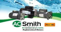 A. O. Smith Century SQ1072 Full Rated 3/4 HP 3450RPM Single Speed Pool Pump Motor