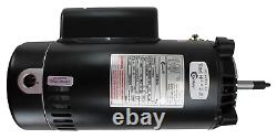 A. O. Smith Century UST1202 Up-Rated 2HP 3,450 RPM C-Face 1 Speed Pool Pump Motor