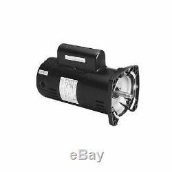 A. O. Smith QC1072 Square Flange 1HP 115/230V Pool Pump Motor