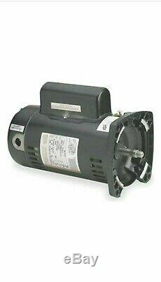 A. O. Smith QC1102 1HP 115/230V 48Y Frame Square Flange Pool Pump Motor