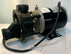 Americh Corp Pool Pump With Emerson 1563 And 1795 Motor 115 Volts Used