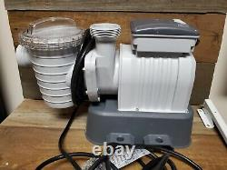Bestway flowclear Swimming Pool Sand Filter #58498E. 49HP