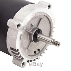 Bluffton B1319 1.5 HP Up Rated Single Speed Threaded Replacement Pool Motor Pump