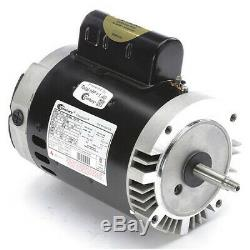 CENTURY B128 Pool Pump Motor, 1 HP, 3450 RPM, 115/230VAC