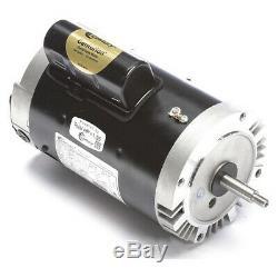 CENTURY B129 Pool Motor, 1-1/2 HP, 3450 RPM, 115/230VAC