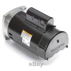 CENTURY B2848V1 Pump Motor, 1 HP, 3450,115/230 V, 56Y, ODP