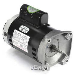 CENTURY B845 Pool Motor, 1/2 HP, 3450 RPM, 115/208-230V