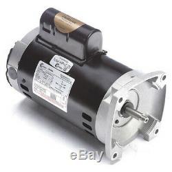 CENTURY B849 Pool Pump Motor, 1-1/2 HP, 3450 RPM, 230VAC