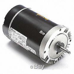 CENTURY Pool Pump Motor, 1 HP, 3450 RPM, 115/230VAC, B228SE