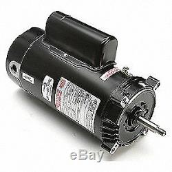 CENTURY Pool Pump Motor, 1 HP, 3450 RPM, 115/230VAC, CT1102