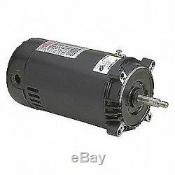 CENTURY Pool Pump Motor, 1 HP, 3450 RPM, 115/230VAC, ST1102