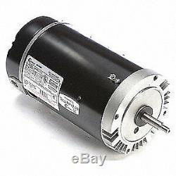 CENTURY Pool Pump Motor, 2 HP, 3450 RPM, 115/230VAC, B230SE