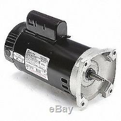 CENTURY Pool Pump Motor, 3 HP, 3450 RPM, 208-230VAC, B2844