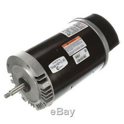 CENTURY USN1202 Pool Motor, 2 HP, 3450 RPM, 115/208-230VAC