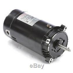 CENTURY UST1102 Pool Pump Motor, 1 HP, 3450 RPM, 115/230VAC