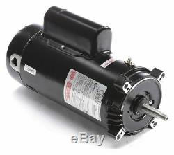 Century 1-1/2, 1/4 HP Pool and Spa Pump Motor, Capacitor-Start/Run, 230V, 56J