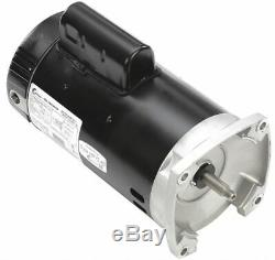 Century 1-1/2 HP Pool and Spa Pump Motor, Capacitor-Start, 115/208-230V, 56Y
