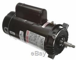 Century 1-1/2 HP Pool and Spa Pump Motor, Capacitor-Start/Run, 115/230V, 56J
