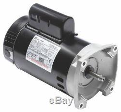 Century 1-1/2 HP Pool and Spa Pump Motor, Permanent Split Capacitor, 115/230V
