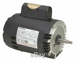 Century 1-1/2 HP Pool and Spa Pump Motor, Permanent Split Capacitor, 3450