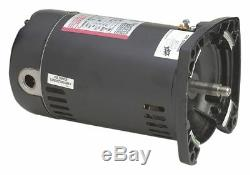 Century 1-1/2 HP Square Flange Pool Pump Motor, Capacitor-Start, 3450 Nameplate