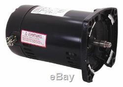 Century 1 HP Pool and Spa Pump Motor, 3-Phase, 3450 Nameplate RPM, 208-230/460