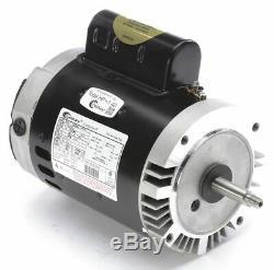 Century 1 HP Pool and Spa Pump Motor, Permanent Split Capacitor, 115/230V, 56J